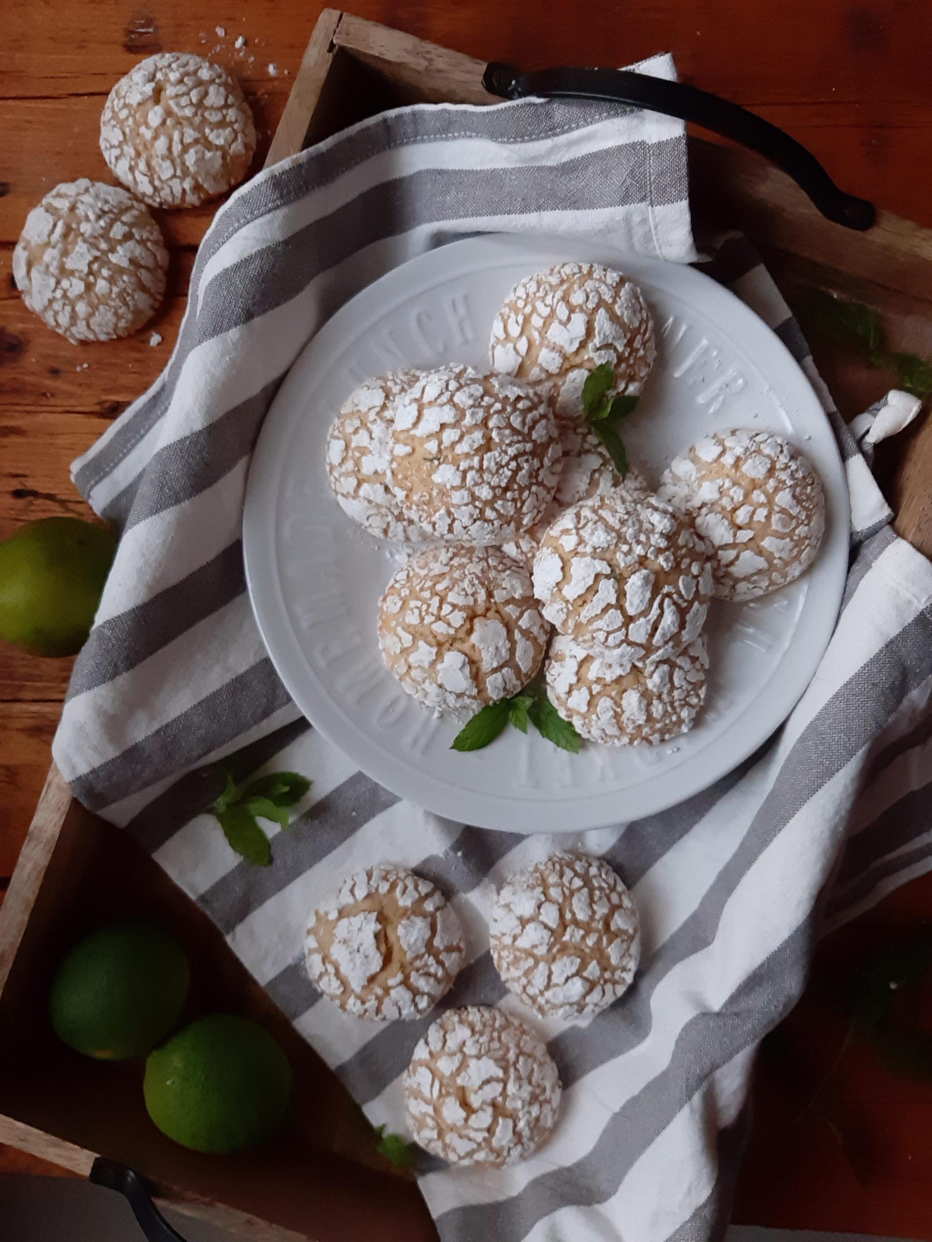 Crinkle Cookies al mojto