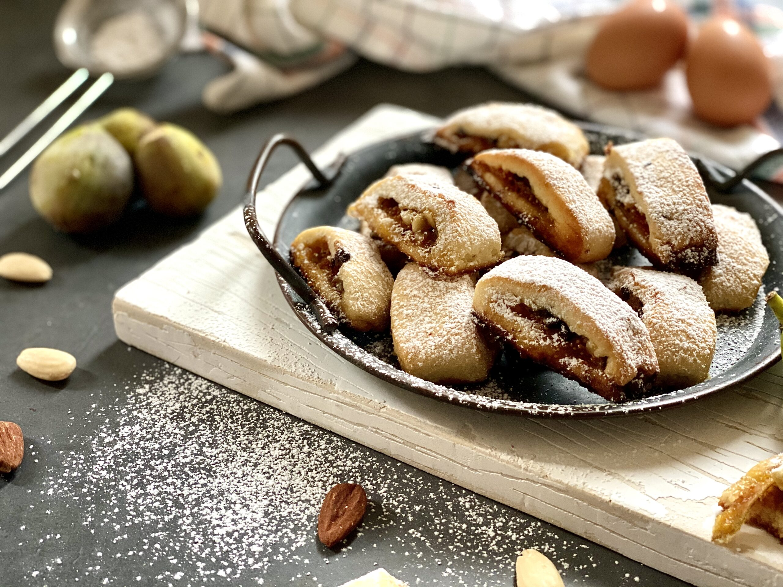 biscotti di frolla ai fichi